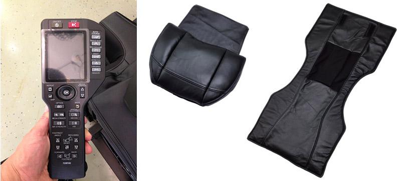 Пульт и съемные подушки на спины FUJIIRYOKI AS-960