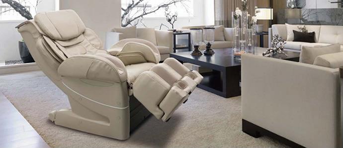 Бежевое кресло EC-3900 в интерьере