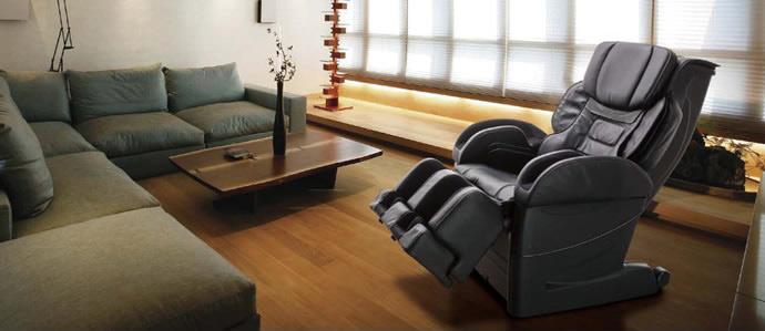 Черное кресло EC-3900 в интерьере